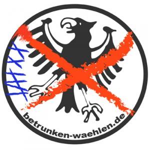 Betrunken wählen: Bundestagswahl 2017