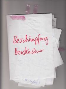 Beschimpfung Bernstein